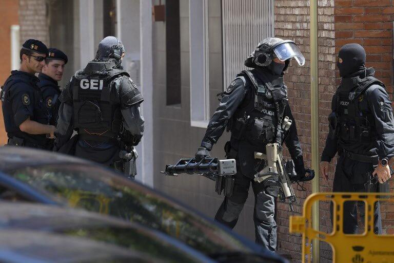 Cornella police station attack