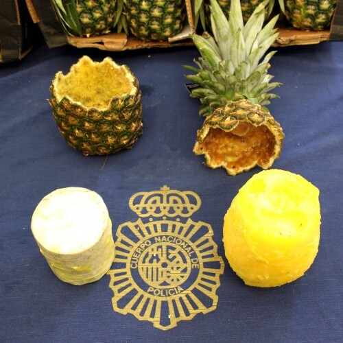 Cocaine-stuffed pineapples