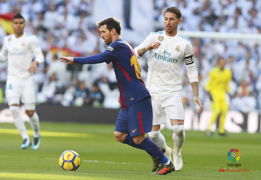 Lionel Messi and Sergio Ramos