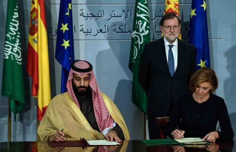 Spain Saudi Arabia