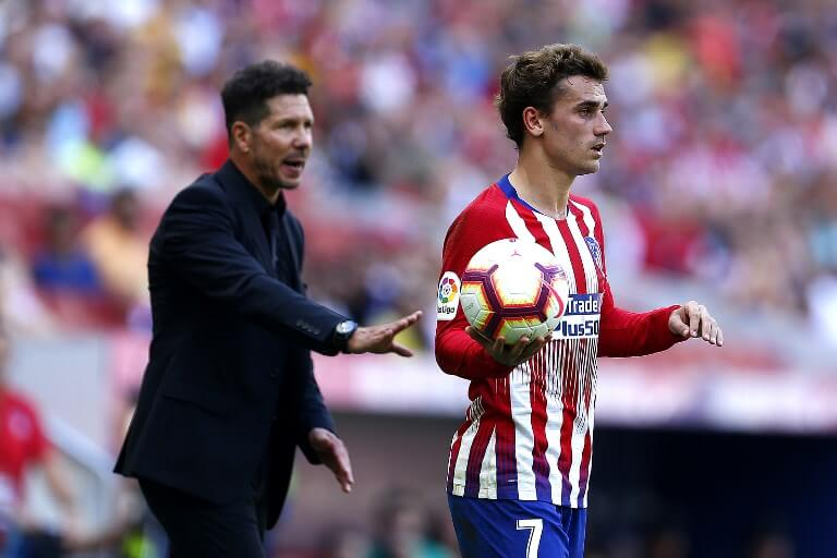 Atletico Madrid's coach