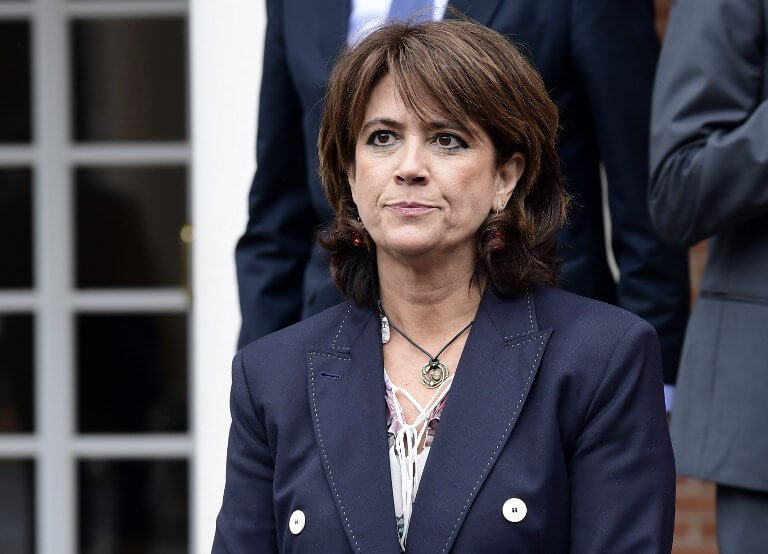 Spain's Justice Minister, Dolores Delgado