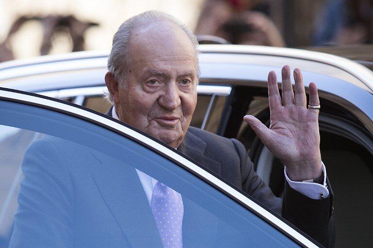 Former King Juan Carlos I of Spain