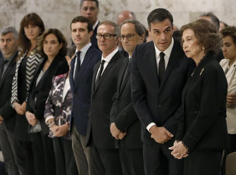 Funeral of Montserrat Caballé
