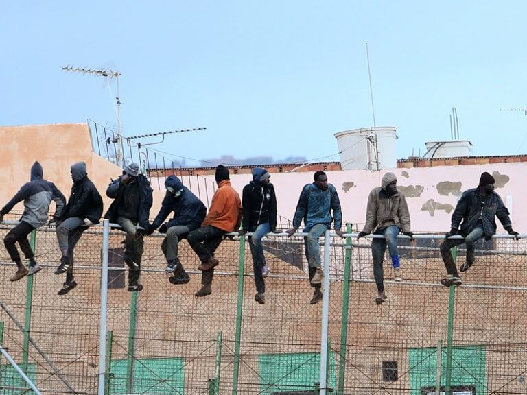 Melilla migrants