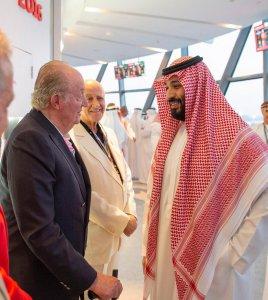 Juan Carlos and Saudi Prince