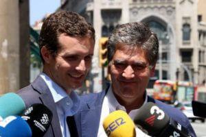 Pablo Casado with Ignacio Cosido