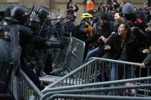 Barcelona protests