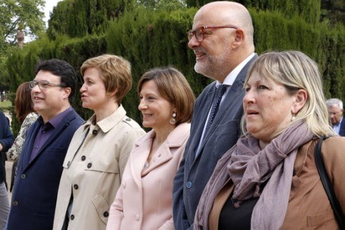 Former Catalan Parliament Bureau members