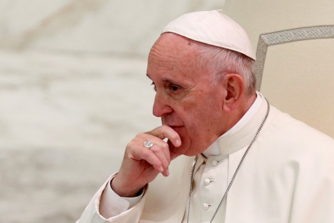 Pope Francis (Reuters / Max Rossi / via ACN)