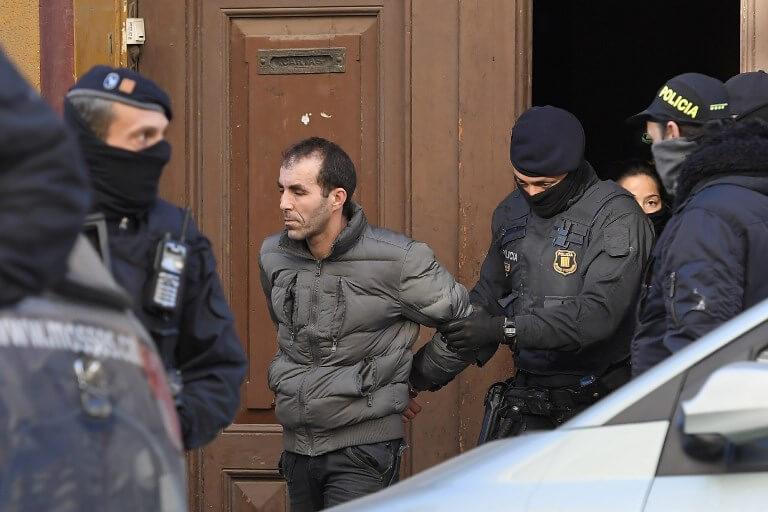 Police raid Barcelona cell