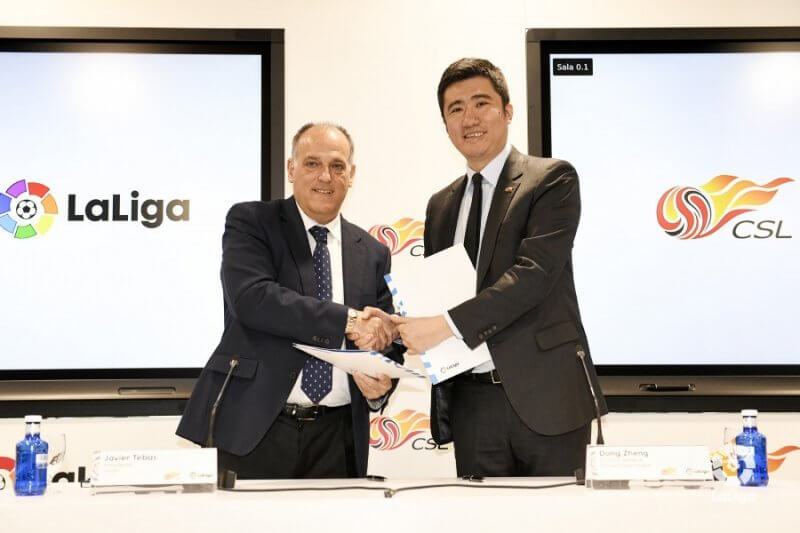 La Liga and China Super League