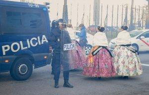 Taxi strike FITUR