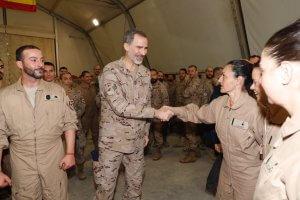 Felipe VI in Iraq