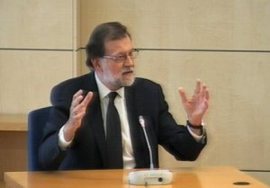 Mariano Rajoy in court