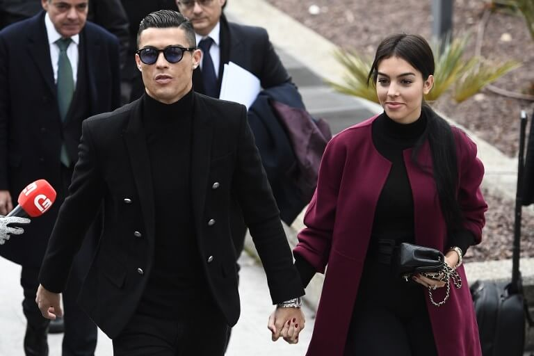 Cristiano Ronaldo arrives at court