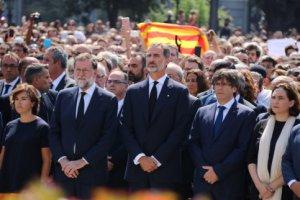 Felipe VI, Puigdemont and Rajoy