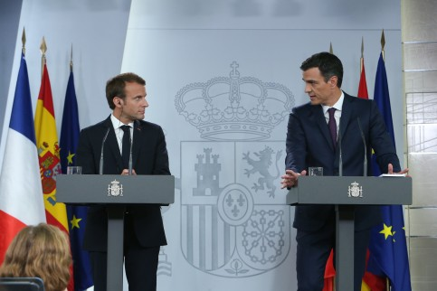 Macron and Sánchez