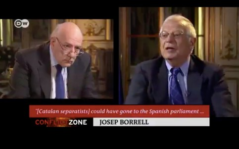 Tim Sebastian and Josep Borrell