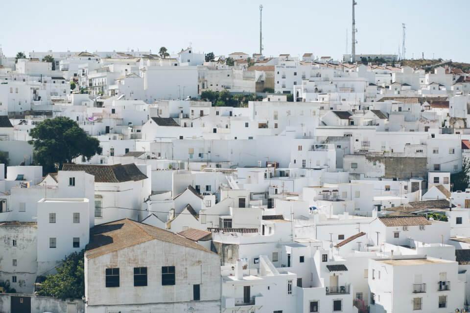 Spanish pueblo blanco