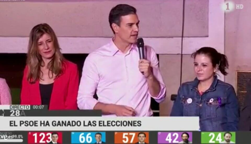 PSOE win election