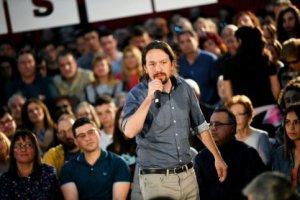 Pablo Iglesias, leader of Unidas Podemos