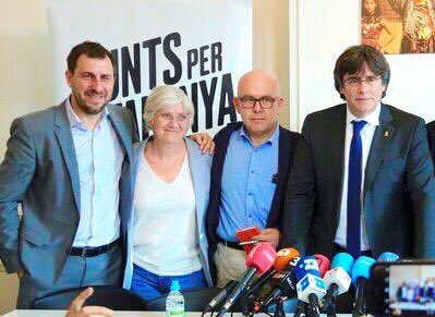 Puigdemont, Comin and Ponsati
