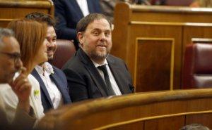 Oriol Junqueras in Congress