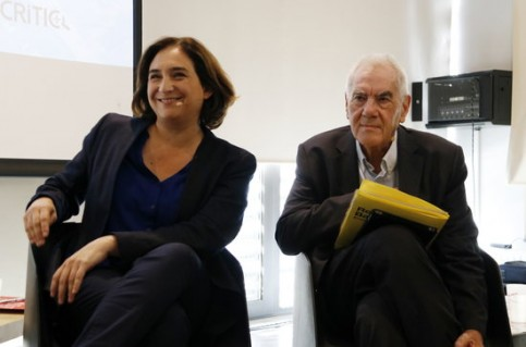 Ada Colau and Ernest Maragall