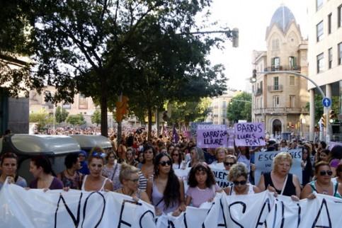 Manresa protest