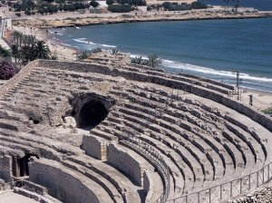 Roman amphitheatre of Tarragona.