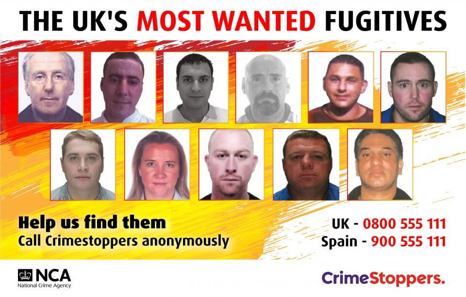 The UK's Most Wanted Fugitives.