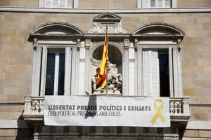 Catalan government banner