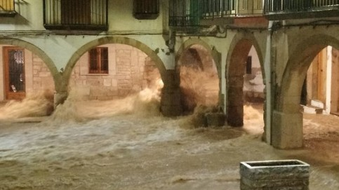 Catalonia flash floods