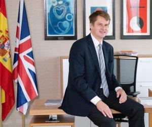 British Ambassador Hugh Elliot