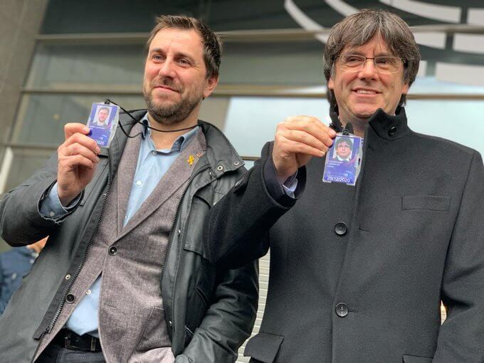 Puigdemont and Comin