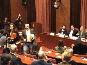 Catalan Parliament hearing
