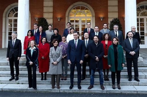 New Spanish Cabinet