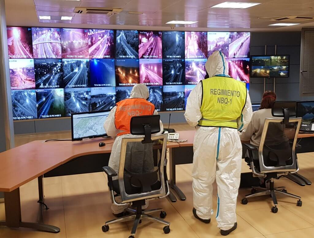 Security monitoring transport