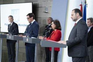 Spanish Ministers Coronavirus