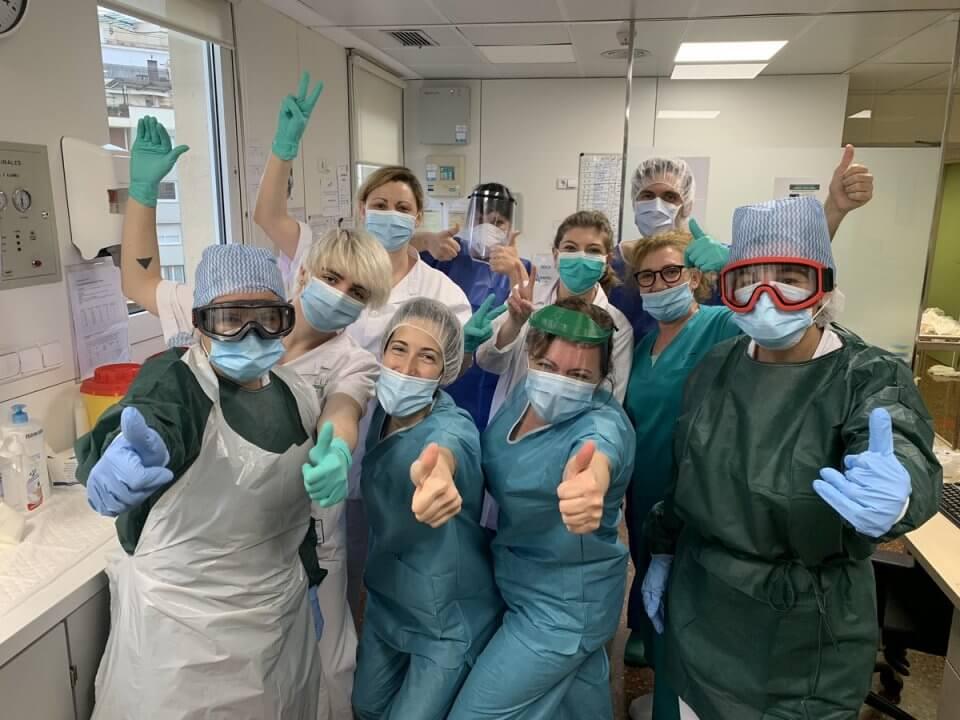 Hospital Clínic staff