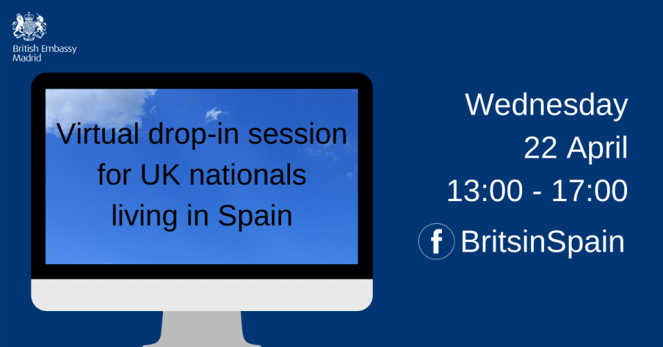British Embassy virtual drop-in