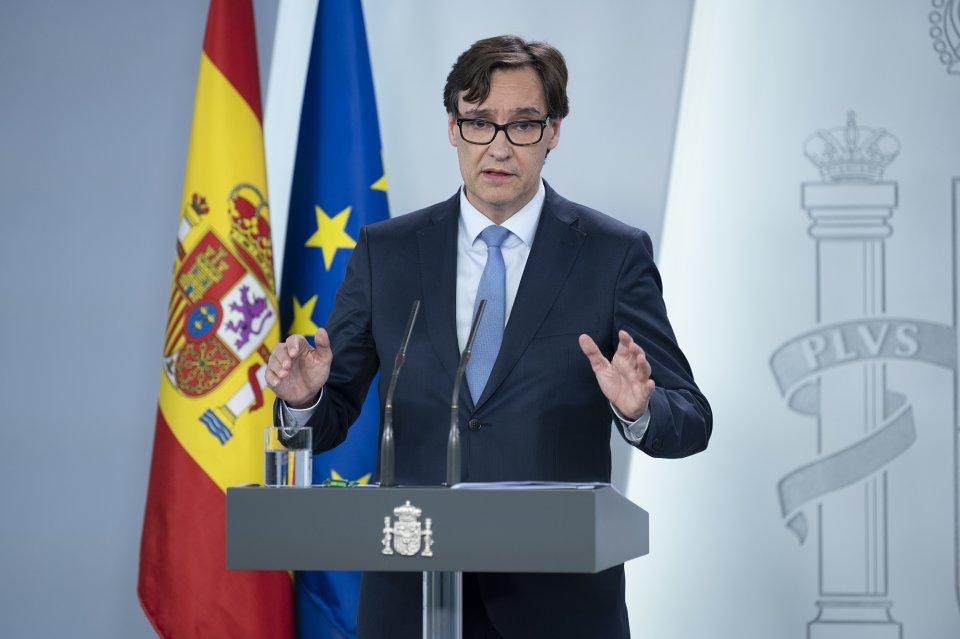 Spanish Health Minister Salvador Illa