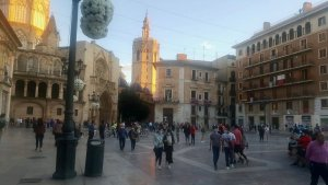 Strolling in Valencia