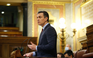 Pedro Sánchez in Spanish Congress