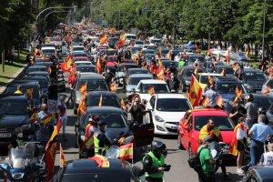 Vox protest in Madrid