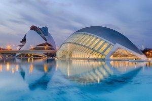 La Ciutat de les Arts i les Ciències in Valencia
