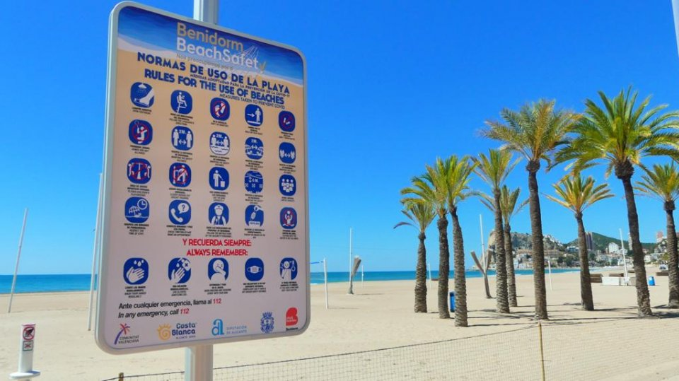 Benidorm Beach Safety