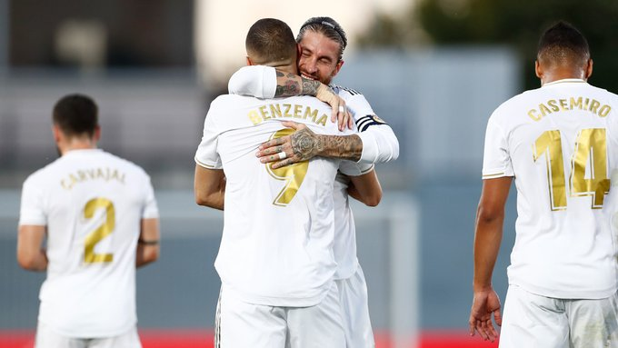 Ramos and Benzema