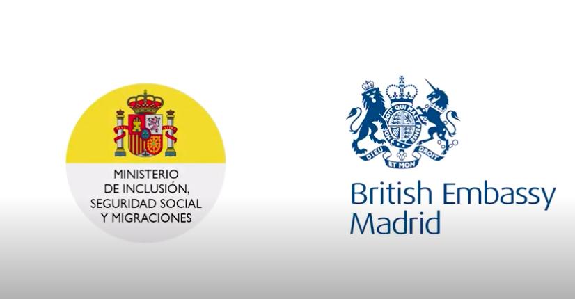 Secretaria de Estado de Migraciones and British Ambassador